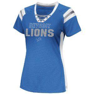 NFL Detroit Lions Women's Draft Me VI Jersey, Sport Blue, X-Large #Detroit #lions