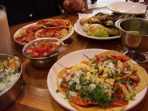 Tacos al Pastor @ El Califa