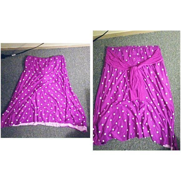Purple plus size dress Brand new never been worn Dresses