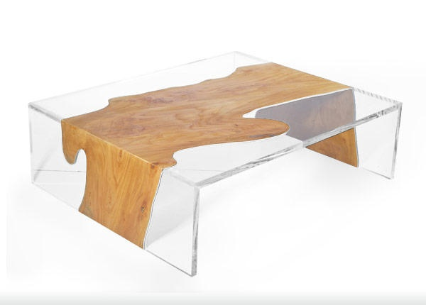 Acryl Beistelltisch Eric Pfeiffer - Design