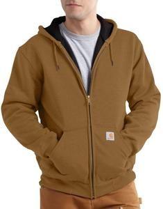 Carhartt Men's Rain Defender™ Rutland Thermal-Lined Hooded Zip-Front Sweatshirt