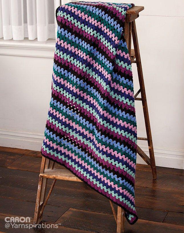 17 mejores imágenes sobre Blankets en Pinterest   Ganchillo libre ...
