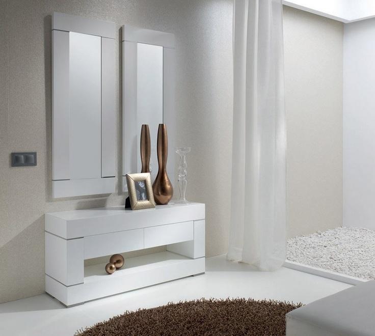 Recibidor decoracion conjunto recibidor consola y espejo for Espejos para consolas
