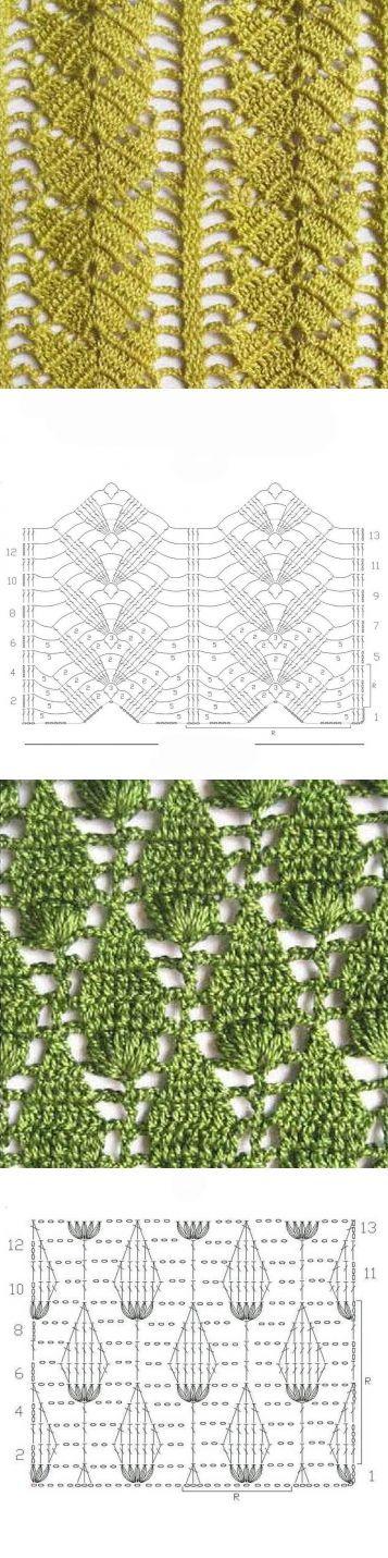 1133 best Rebozos de ganchillo images on Pinterest | Crochet ...