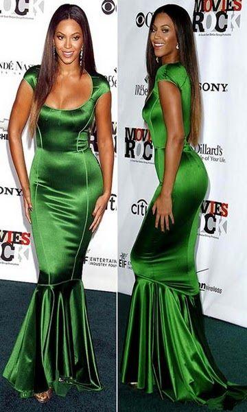 robe de cocktail grande taille :Beyoncé Knowles