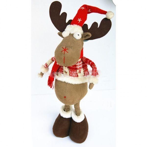 Мягкая игрушка «Рождественский олень»