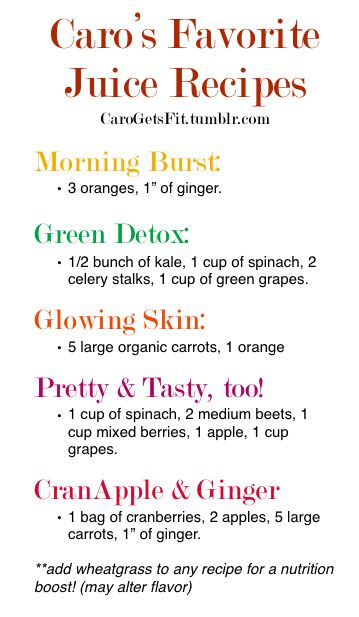carogetsfit:  Been receiving a lot of questions about juicing so this is a little preview of more to come!