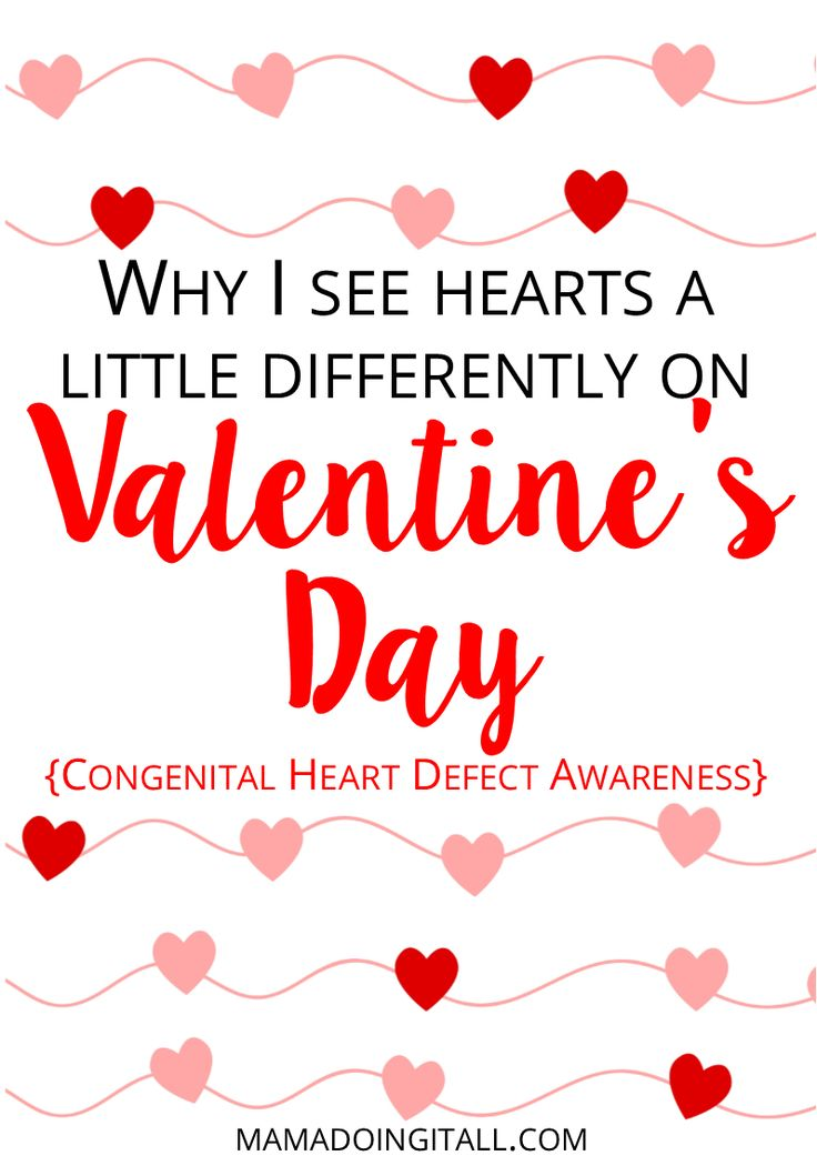 February is about a lot more than Valentine's Day for heart families. It's Heart Month! Learn more about Congenital Heart Defects, and ways you can help spread awareness! #chdawareness #congenitalheartdefects #heartwarrior