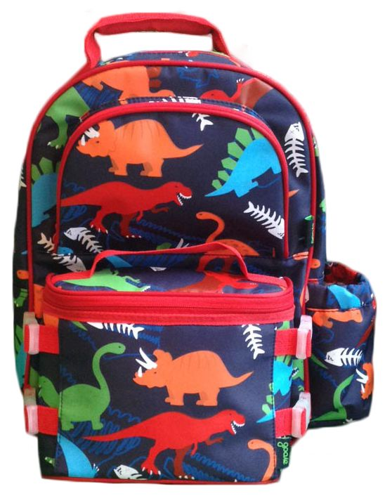 Backpack/Lunchbox combo dino for boys