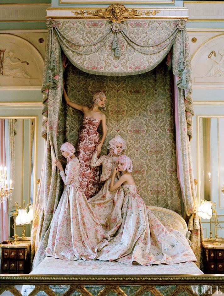 Modern day designers continue to revisit and reinvent the Marie Antoinette era with modern design details. Let them carry on and eat their cake too!