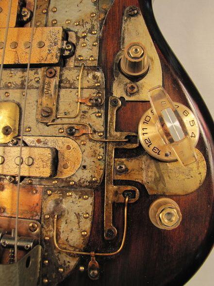 Greyhoundcaster Bass guitar | Tony Cochran Guitars