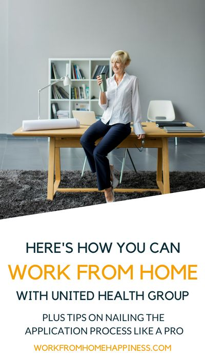 Here's how you can work form home for United Health Group.