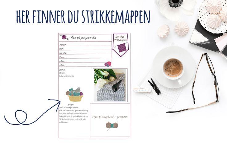 - bye9design - knitting - strikkemappen - digital download