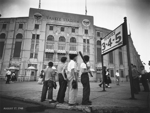 Yankee Stadium - August 17, 1948 (The Day After Babe Ruth's Death)  New York City