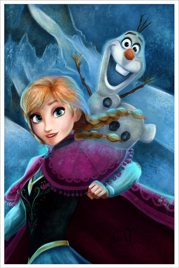 Anna olaf frozen by niniel - Frozen anna and olaf ...