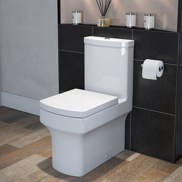 vermont close coupled toilet inc soft close seat. Black Bedroom Furniture Sets. Home Design Ideas