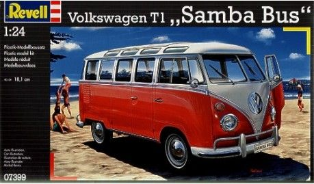 Revell - 7399 - Maquette de voitures / cars model kits - VW T1 Samba Bus - 1/24