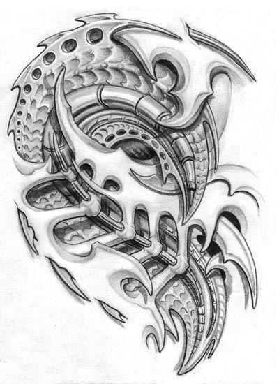 95 besten tattoo biotech biomechanik biomech bilder auf. Black Bedroom Furniture Sets. Home Design Ideas