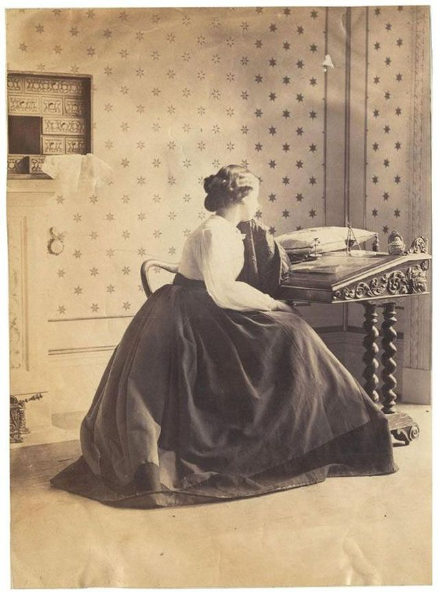 These are some of the earliest portrait photos of Victorian women taken by Lady Clementina Hawarden (1 June 1822 – 19 January 1865), one of Britain's first female photographers, also one of the most influential Victorian fine art photographers, blazing the way for women in the profession when it was dominated by men.