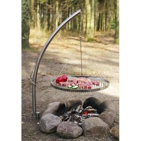 17 best images about barbecues charbon on pinterest fire pits barbecue and campfires - Grille de barbecue ronde ...