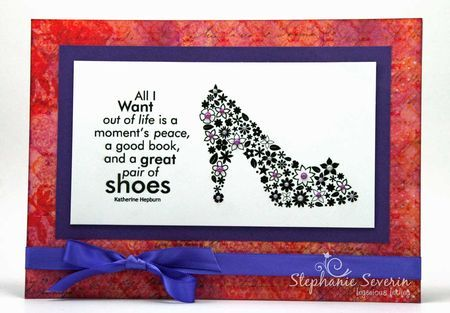 Stephanie Severin - Ingenious Inkling Imagine Collection Stamp It Australia  Crafter's Companion