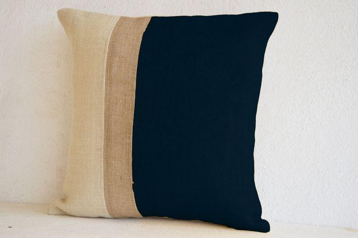 Black Pillow Cover In Designer Color Black Pattern For Modern Decor