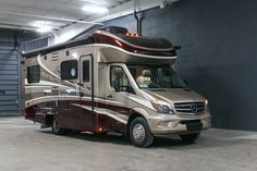 """THE LUXURY YOU DESERVE!!!   2018 Dynamax Corporation Isata 3 24RWM  Though this class C may seem compact at 24'7"""" long, this diesel-powered rig is the ultimate in homelike comfort! You'll love your gorgeous master bedroom, which is designed to look like a luxury hotel rom! Sleek exterior graphics and a fantastic Mercedes-Benz chassis will definitely turn heads!  Give our Isata 3 expert Mike Fleser a call 616-540-5747 for pricing and more information."""