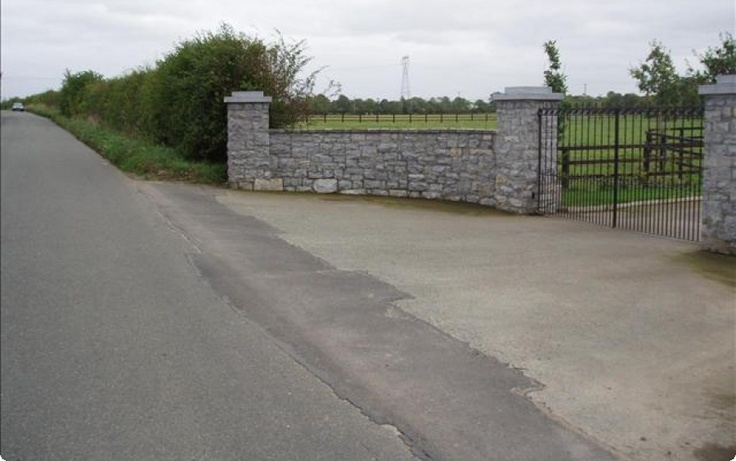 Stone Entrance Pillars : Pictures of driveway entrances peninsula stone