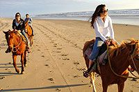 PACIFIC BEACH HORSEBACK... this will be me and my little ladies, someday!