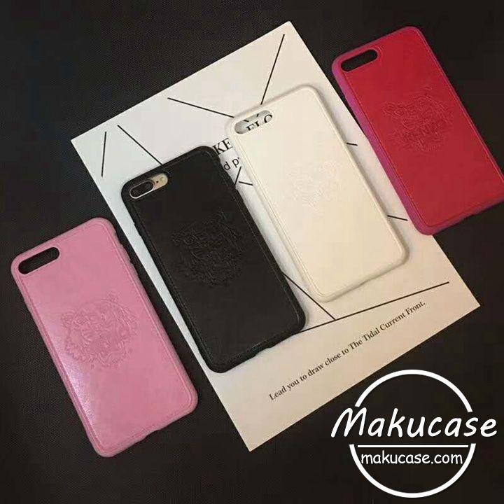 ケンゾー iphone8 iphone8plusケース KENZO iphone7/7plusケース tiger アイフォン8ケース 男女兼用iphoneペアケース芸能人愛用