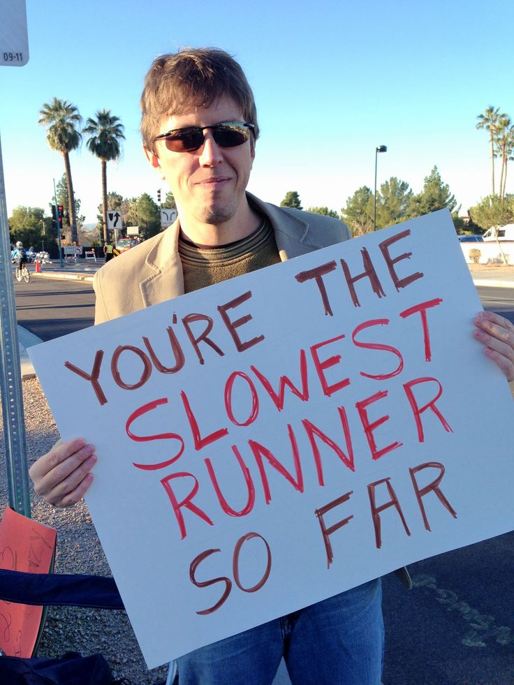 Funny sign at Rock n Roll marathon - http://humorandfail.com/funny-sign-at-rock-n-roll-marathon/