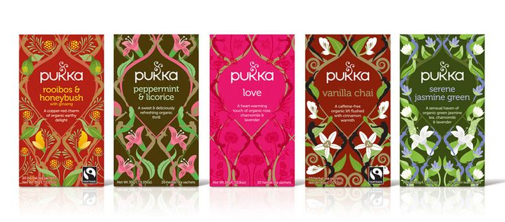 Pukka Herbs by The Space Creative