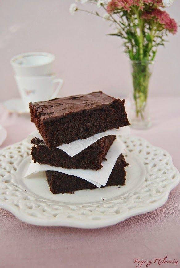 Vege z Miłością: Brownie z cukinią (bezglutenowe)
