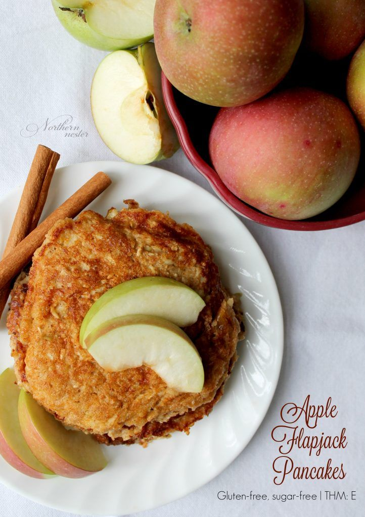 Apple Flapjack Pancakes | THM: E - Northern Nester