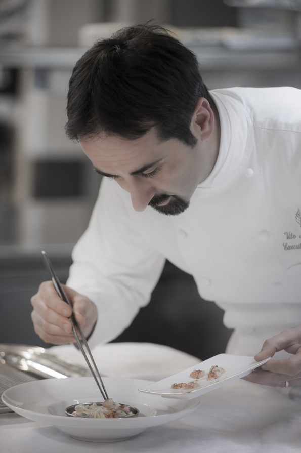 Michelin star Chef Vito and his attention to detail