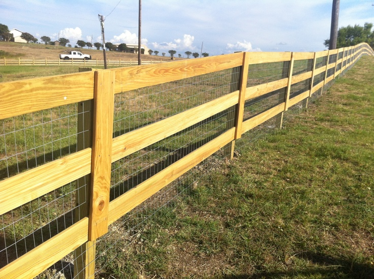 3 Rail Fence In Coupland Horse Facility Fence Gate