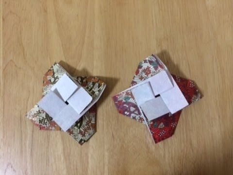 折り紙 かざぐるま折り 難易度★★☆ origami kazaguruma Level two