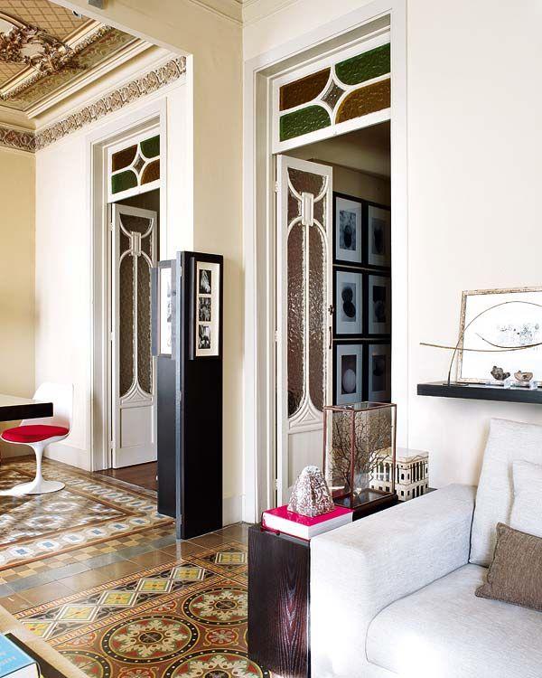 Espacios, casas | Nuevo Estilo revista de decoración - Barcelona apartment by Jorge Subietas