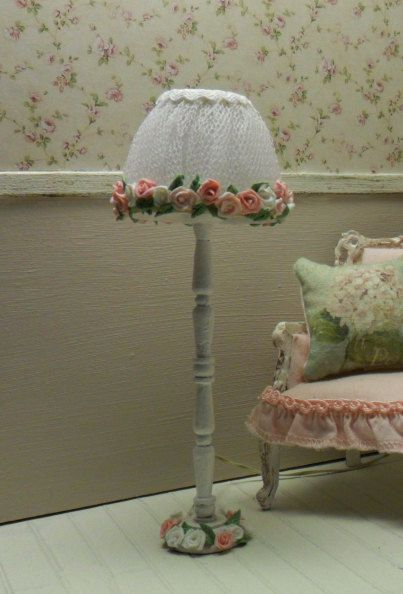 Casa de muñecas miniatura lampara de piecasa de por LasMInisdeMaini, €16.00