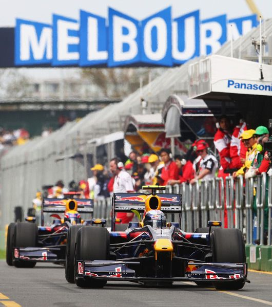 The Australian Formula One Grand Prix