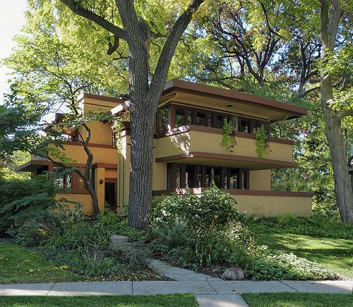 ) Frank Lloyd Wright's Laura Gale House