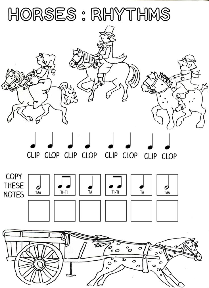 Worksheets Music Worksheets Free 70 best images about elementary music worksheets on pinterest lets play horses rhythm work sheet free printables