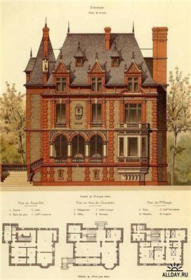 Викторианская кирпичная и терракотовая архитектура
