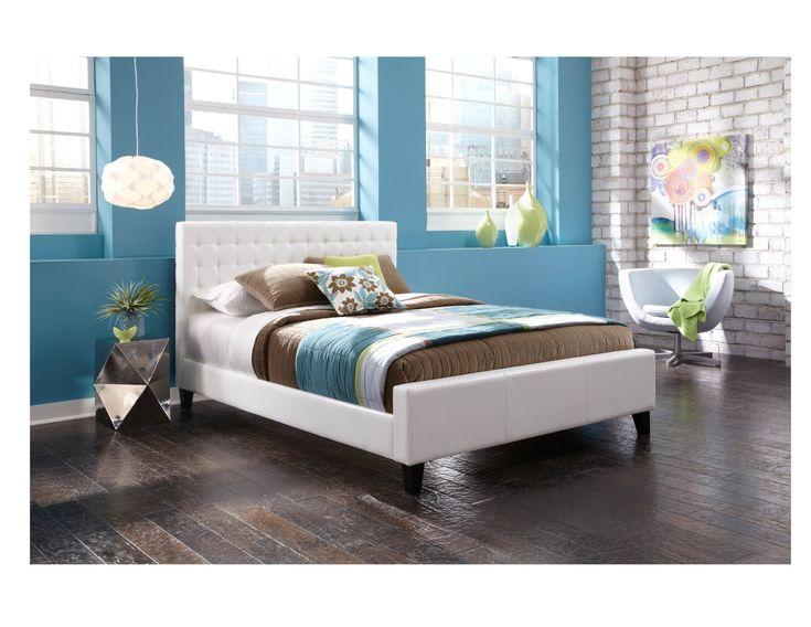 White Bedroom With Dark Furniture die besten 25+ dark wood bed frame ideen auf pinterest | dunkles