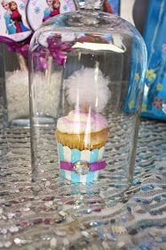 Cupcakes in a glass
