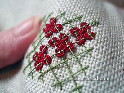 Silk Gimp thread....divine stuff....via NeedleNTHread