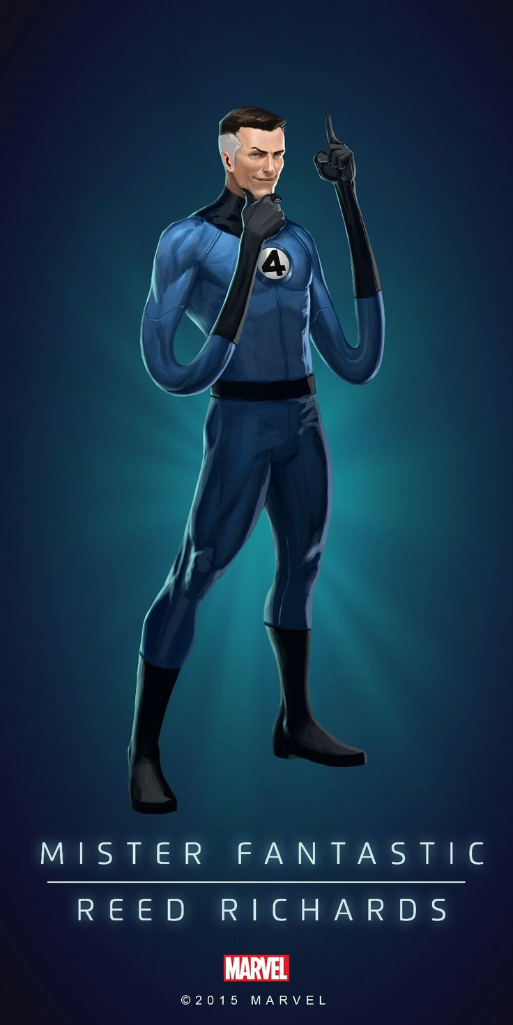 Reed Richards, needs no introduction. #PuzzleQuest