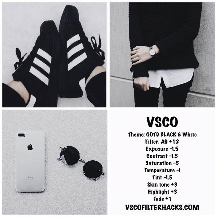 35 VSCO Filters for Black and White Instagram Feed - VSCO Filter Hacks