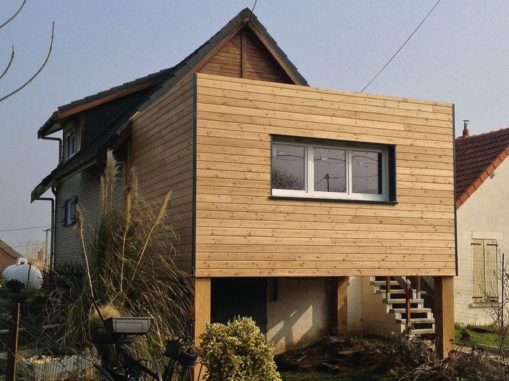81 best extension bois images on Pinterest Bedroom ideas, Bedroom - prix d une extension de maison de 20m2
