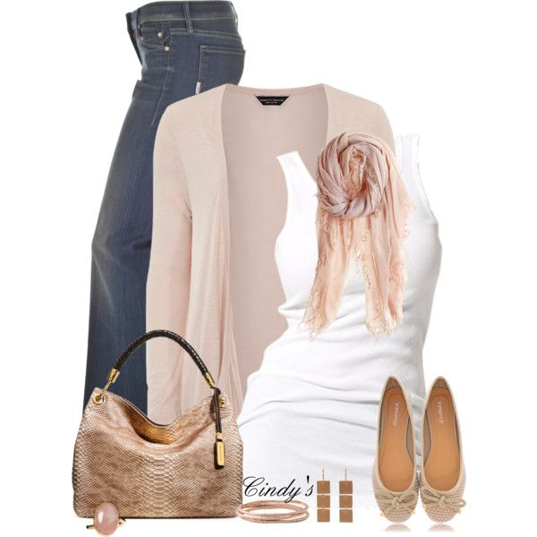 Casual OutfitWomen Fashion, Casual Outfit, Style, Clothing, Pale Pink, Fashionista Trends, Jeans Outfit, Fall Outfit, Pink Cardigans Outfit